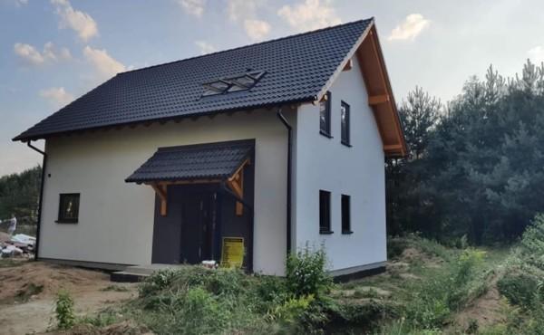 Dom z poddaszem użytkowym,  Łódź.