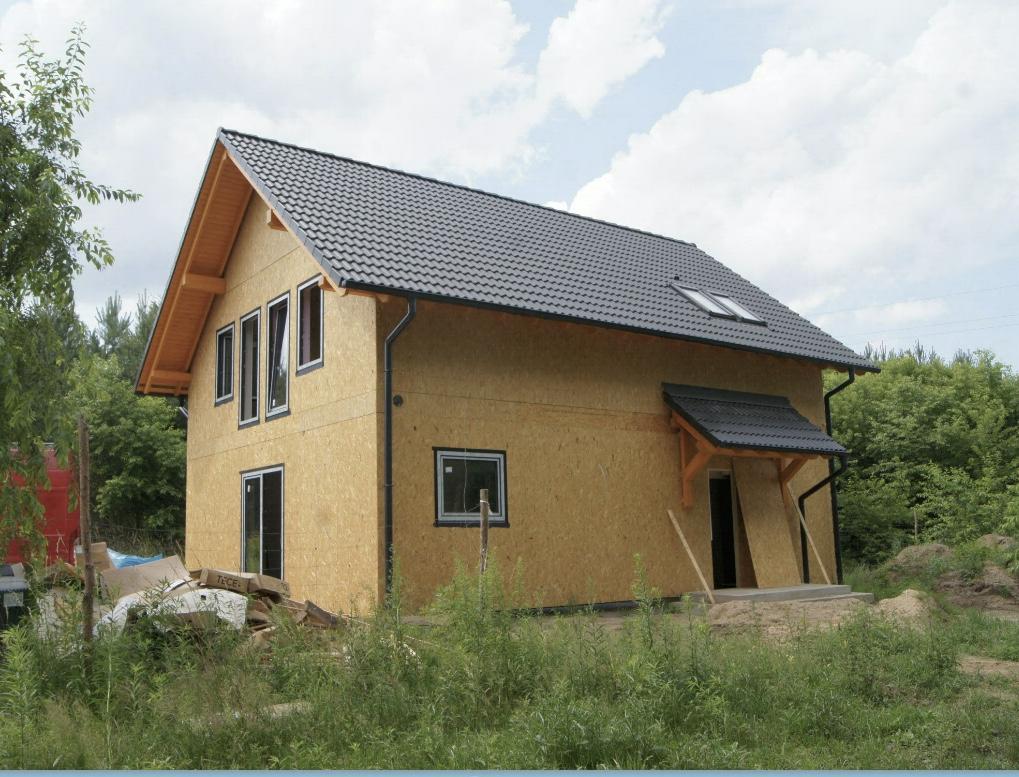 Domikon - Dom z poddaszem użytkowym,  Łódź.