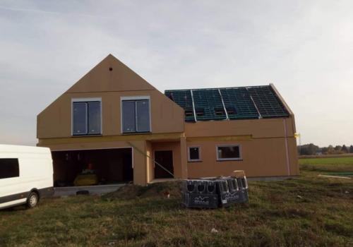 Energooszczędny dom, Łódź.