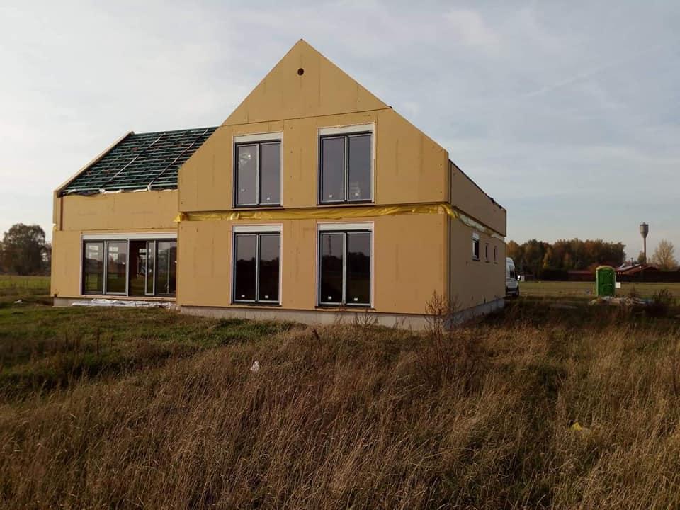 Domikon - Energooszczędny dom, Łódź.