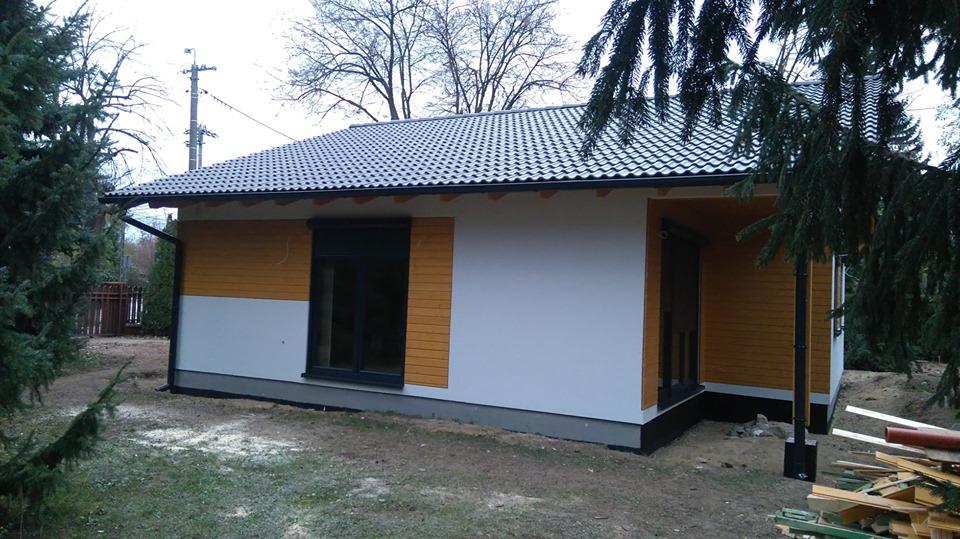 Domikon - Dom energooszczędny w Warszawie.
