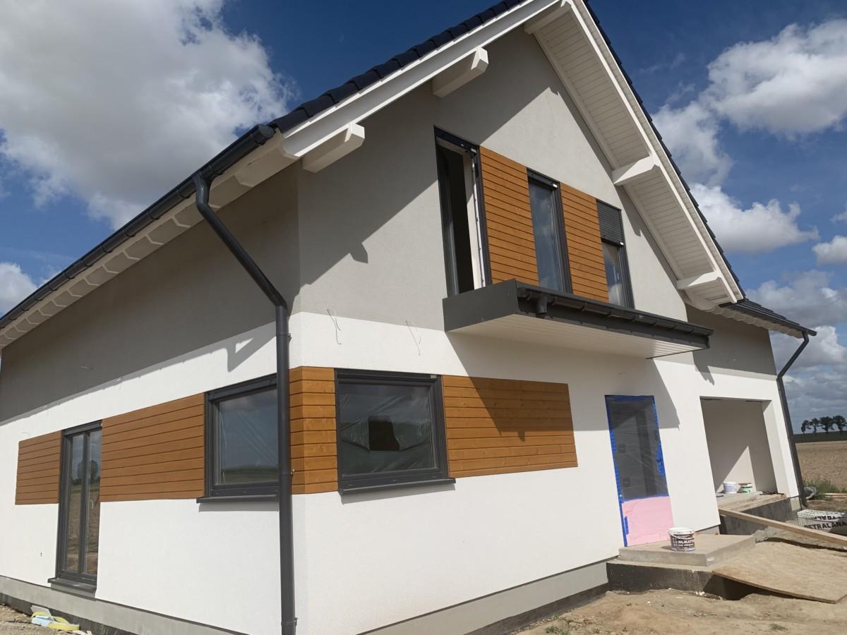 Domikon - Dom energooszczędny z garażem dwustanowiskowym, Świdnica.