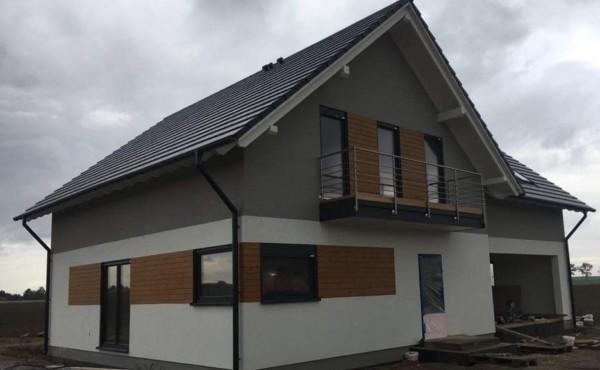 Dom energooszczędny z garażem dwustanowiskowym, Świdnica.