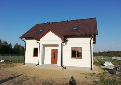 Dom z poddaszem, Rawa Mazowiecka.