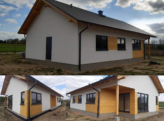 Domikon - Parterowy dom, Skierniewice