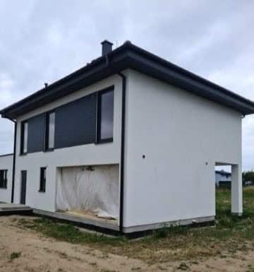 Domikon - Piętrowy dom z garażem dwustanowiskowym, zachodniopomorskie.