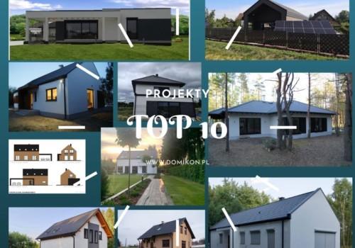 Nie płać za projekt – wybierz swój dom z 10 naszych realizacji