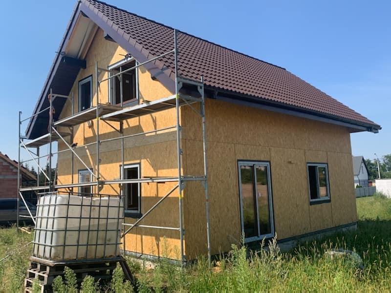 Domikon - Dom z poddaszem, Wrocław.