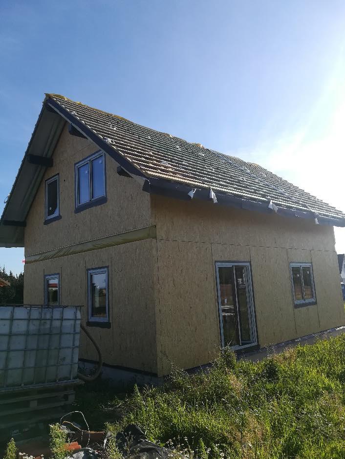 Domikon - Dom z poddaszem użytkowym, Wrocław.
