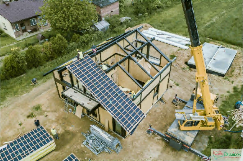Domikon - Jednorodzinny dom z poddaszem użytkowym, Częstochowa.