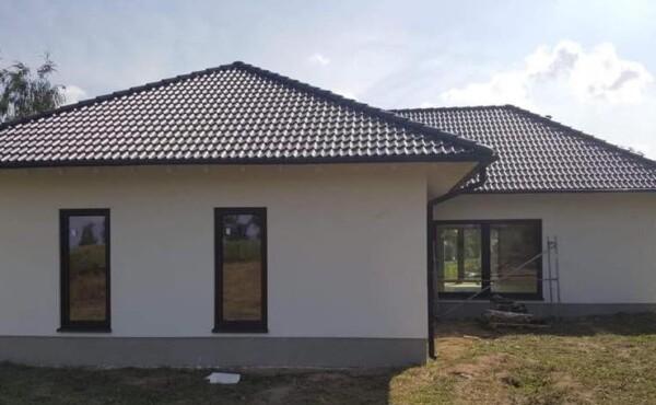 Dom parterowy, województwo mazowieckie.