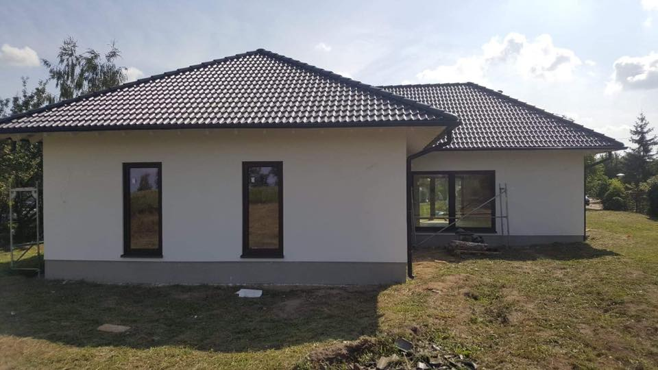 Domikon - Dom parterowy, województwo mazowieckie.