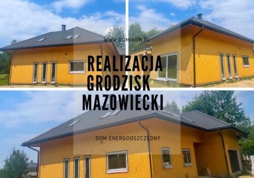 Parterowy dom, okolice Warszawy.