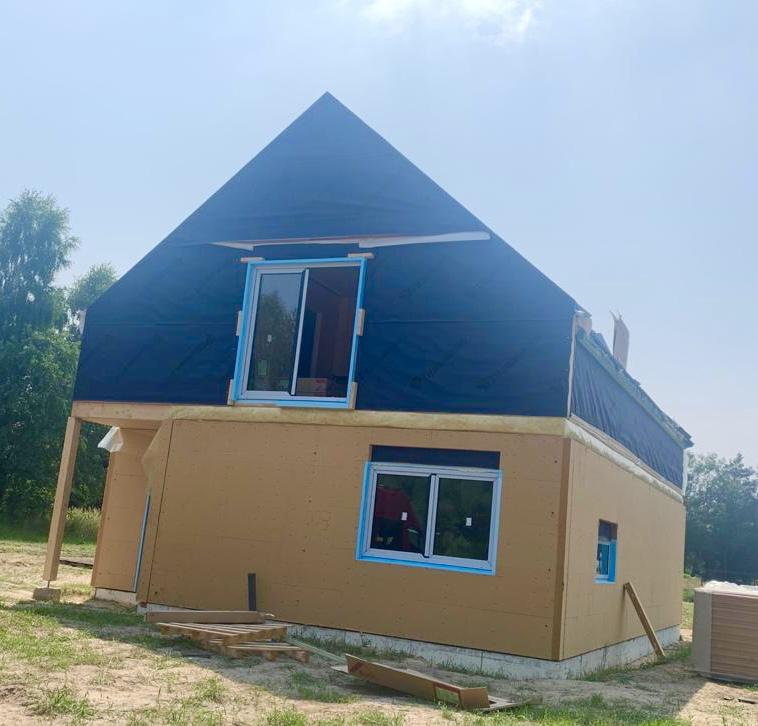 Domikon - Dom z poddaszem użytkowym w Nadarzynie