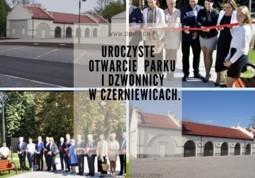 Uroczyste otwarcie zabytkowej dzwonnicy i parku.