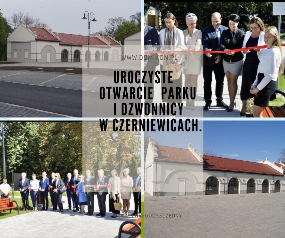 Domikon - Uroczyste otwarcie zabytkowej dzwonnicy i parku.